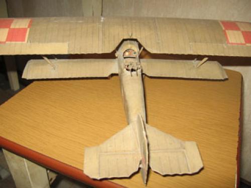 """Моделизм из бумаги  """"Maly Modelarz """" 1957-2007 Выкройки бумажных моделей."""