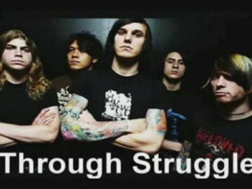 As I Lay Dying - Through Struggle / караоке [юмор, SATRip]
