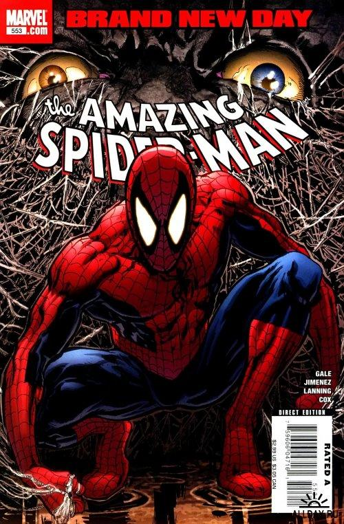 The Amazing Spider-Man #1-#553 (все на ENG) [2008]